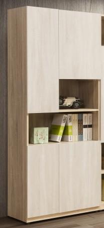 葛瑞絲2.5尺四門書櫃