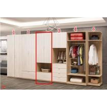 葛瑞絲2.5尺雙門衣櫃